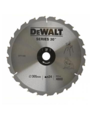 DeWALT DT1160 - Tarcza do drewna