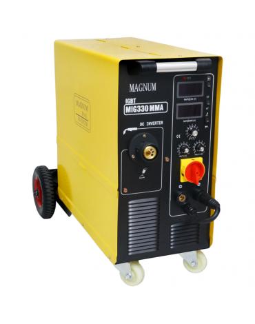 MAGNUM MIG 330 MMA IGBT Profesjonalny półautomat spawalniczy