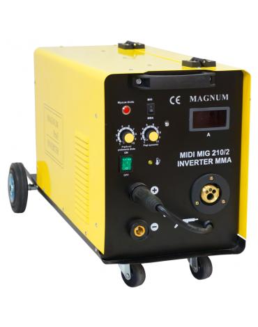MAGNUM MIDI MIG 210/2 MMA Inwerterowy półautomat spawalniczy