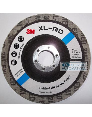 3M XL-RD 127 2S FIN Dysk Szary